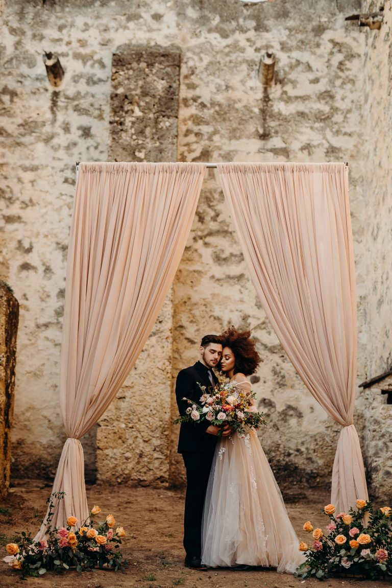 Mission concepcion wedding